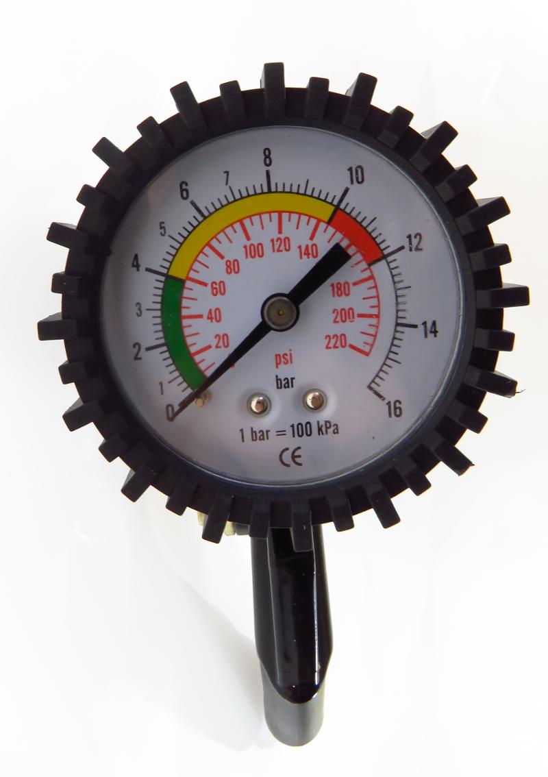 Reifenfüllpistole 0-16 bar Reifenfüller Luftdruckprüfer